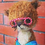 Куклы и игрушки ручной работы. Ярмарка Мастеров - ручная работа Лисенок Людвиг. Handmade.