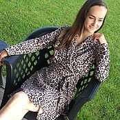 Одежда handmade. Livemaster - original item Leopard dress. Handmade.