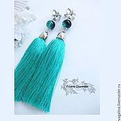 Украшения handmade. Livemaster - original item Yodirovannoye earrings with tassels