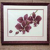Картины ручной работы. Ярмарка Мастеров - ручная работа «Орхидея». Handmade.
