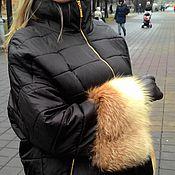 Одежда handmade. Livemaster - original item Winter jacket with Fox. Handmade.