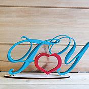 Подарки к праздникам handmade. Livemaster - original item Letters initials names painted. Handmade.