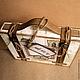 Подарочная упаковка ручной работы. Заказать Чемоданчик для подарка. Елена Зарайская (EleZara). Ярмарка Мастеров. Упаковка для подарка, коробочка для открытки