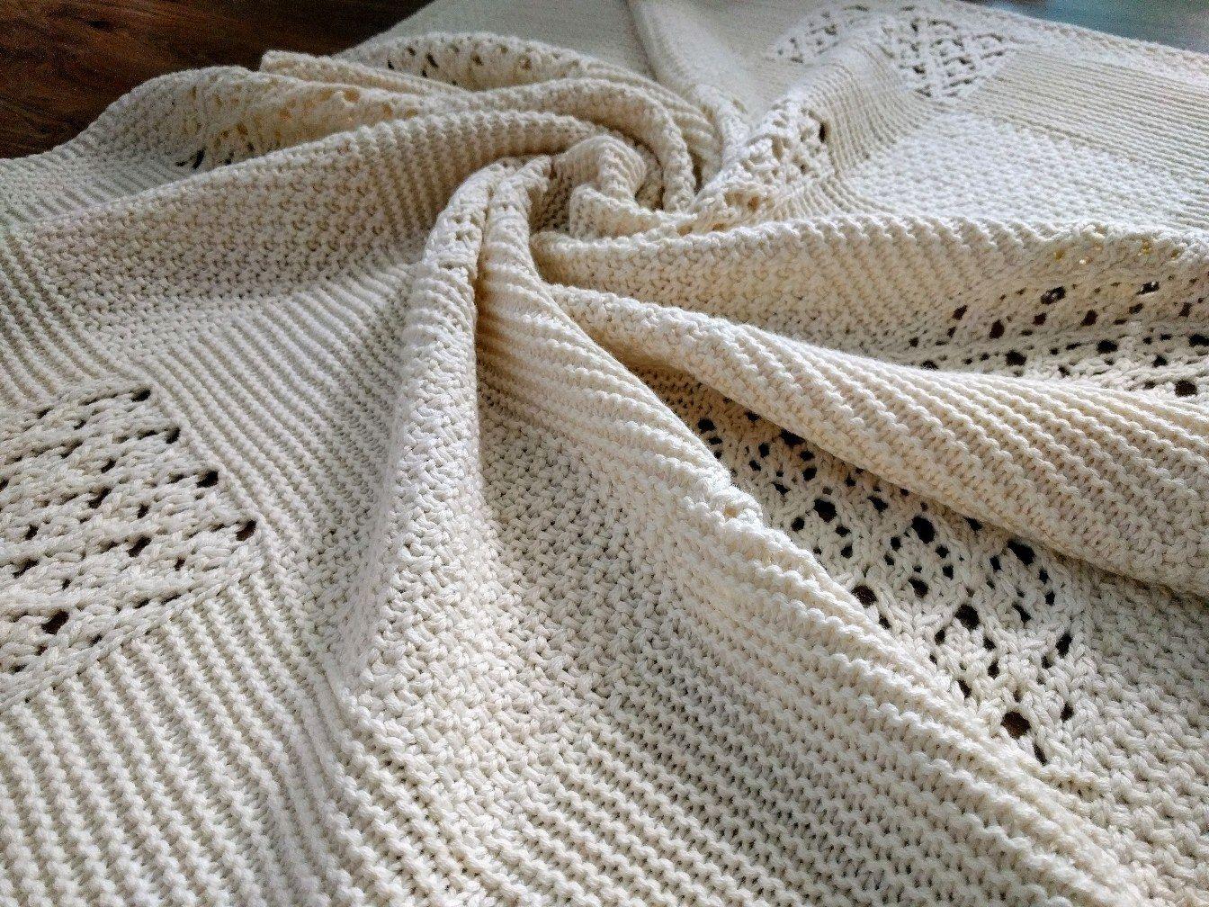 Children's blanket with knitting needles ' Plombir', Blankets, Zhukovsky,  Фото №1