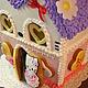 Кулинарные сувениры ручной работы. Пряничный домик для Kitty. Elena Vlasyuk Пряничные штучки. Интернет-магазин Ярмарка Мастеров.