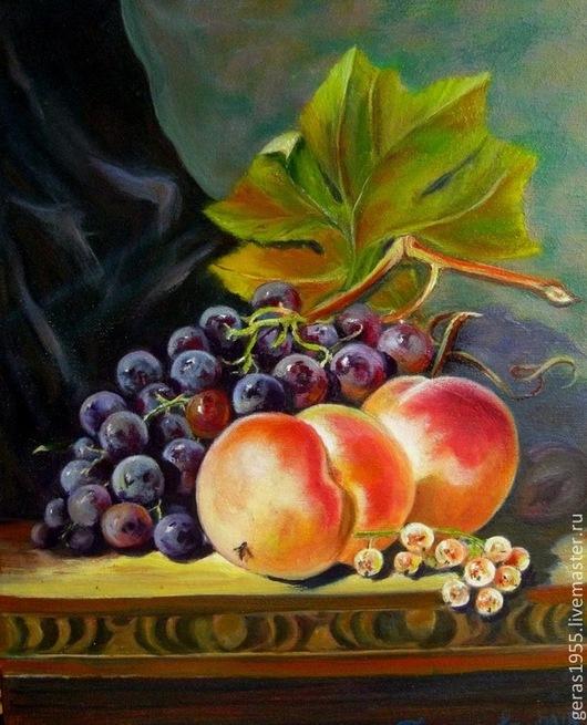 Многослойная живопись. Сочные фрукты.