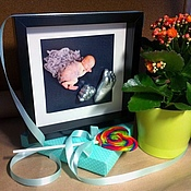 Сувениры и подарки ручной работы. Ярмарка Мастеров - ручная работа Слепки ручек и ножек малышей. Handmade.