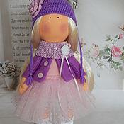 Куклы и игрушки ручной работы. Ярмарка Мастеров - ручная работа Текстильная интерьерная кукла СОНЕЧКА. Handmade.