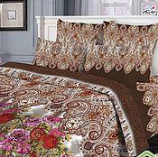 """Комплекты постельного белья ручной работы. Ярмарка Мастеров - ручная работа Комплект """"Турецкие мотивы"""", постельное из поплина (100% хлопок). Handmade."""