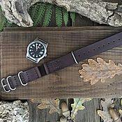 Украшения handmade. Livemaster - original item Watchband: 22 mm strap in the style of NATO strap. Handmade.
