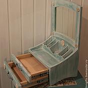 Для дома и интерьера ручной работы. Ярмарка Мастеров - ручная работа Органайзер для косметики с зеркалом. Handmade.