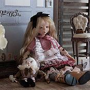 """Куклы и игрушки ручной работы. Ярмарка Мастеров - ручная работа Кукла в смешанной технике """"Alice № 7"""". Handmade."""
