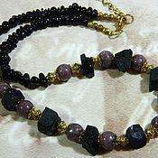 Украшения handmade. Livemaster - original item CHOKER BEADS TOURMALINE, RUBELLITE. A talisman, amulet.. Handmade.