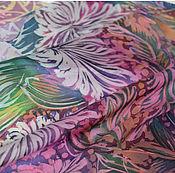 """Аксессуары ручной работы. Ярмарка Мастеров - ручная работа Платок """"Кружево хризантем"""". Handmade."""