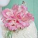 """Цветы ручной работы. Ярмарка Мастеров - ручная работа. Купить Роза """"Pink Paradise"""" из шелка. Цветы из шелка. Handmade."""