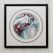 Картины и панно ручной работы. Ярмарка Мастеров - ручная работа живопись на воде 8. Handmade.
