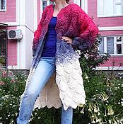 Одежда ручной работы. Ярмарка Мастеров - ручная работа Вязаный кардиган женский 1. Handmade.