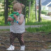 Куклы и игрушки ручной работы. Ярмарка Мастеров - ручная работа Игрушка текстильная заяц. Handmade.