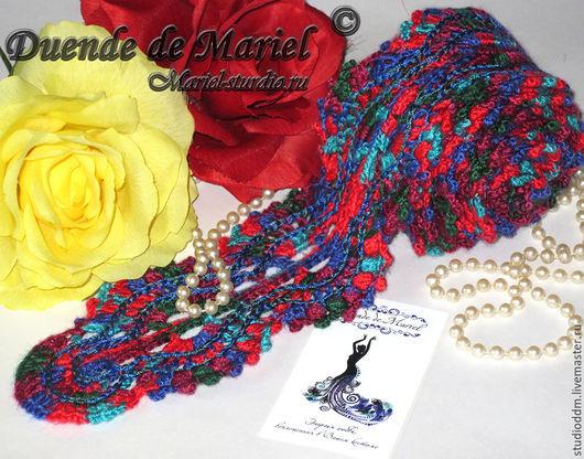 Кроше, флекос(flecos) для фламенко (flamenco) `Mexico` К данной модели можно добавить кисти на Ваш вкус!