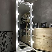 Для дома и интерьера ручной работы. Ярмарка Мастеров - ручная работа Зеркало напольное FANTOM 180/70 18 патронов. Handmade.