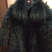 Одежда ручной работы. Ярмарка Мастеров - ручная работа Шуба из финского енота. Handmade.