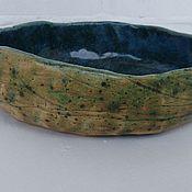 Посуда ручной работы. Ярмарка Мастеров - ручная работа Керамический салатник. Handmade.