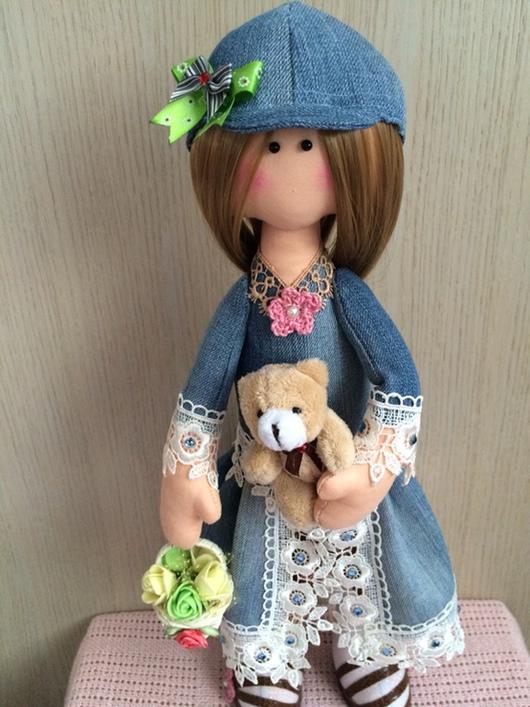 Коллекционные куклы ручной работы. Ярмарка Мастеров - ручная работа. Купить Полина. Handmade. Подарок, подарок подруге, ручная работа
