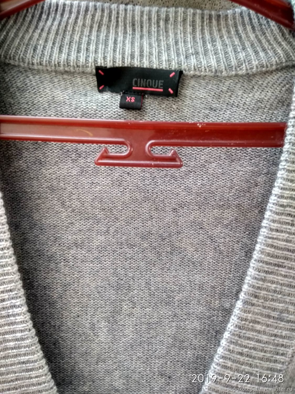 Vintage tunic jumper, silk with cashmere, Germany brand, Vintage clothing, Novorossiysk,  Фото №1