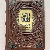 Сувениры и подарки handmade. Livemaster - original item The History of Oil (leather book). Handmade.