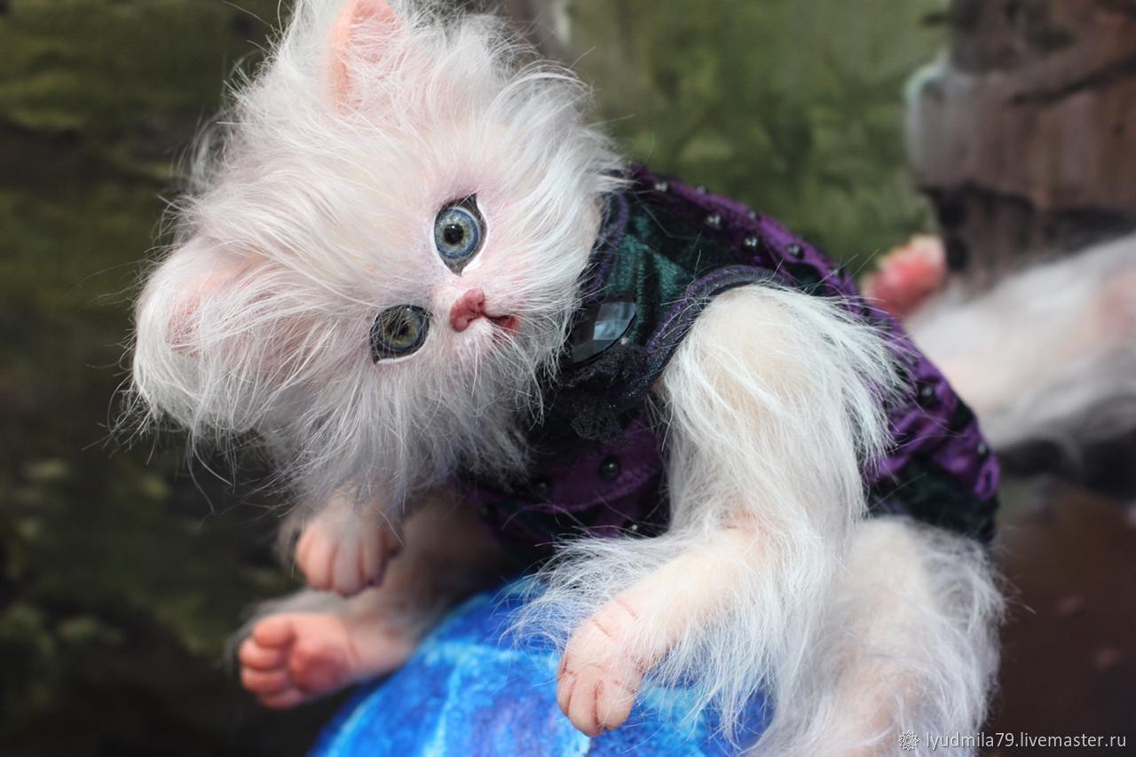 Реборн котёнок Марблс, Куклы Reborn, Москва,  Фото №1