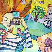 Картины и панно ручной работы. Ярмарка Мастеров - ручная работа Мой безумный ФотоМир. Handmade.