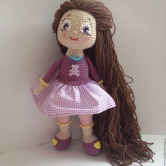 Человечки ручной работы. Ярмарка Мастеров - ручная работа. Купить Кукла ручной работы. Красивая куколка. Вязанная кукла. Handmade.