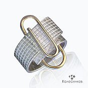 handmade. Livemaster - original item Silver ring