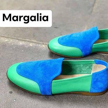 Обувь ручной работы. Ярмарка Мастеров - ручная работа Мокасины `. Handmade.
