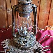 """Для дома и интерьера ручной работы. Ярмарка Мастеров - ручная работа Керосиновая лампа """"Изобилие"""". Handmade."""