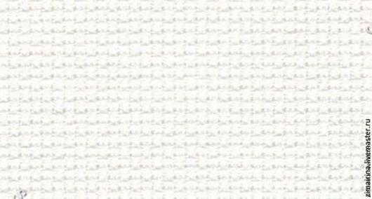 Вышивка ручной работы. Ярмарка Мастеров - ручная работа. Купить DM322 AIDA 18ct BLANC (белая) канва для вышивания. Handmade.