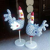 Подарки к праздникам ручной работы. Ярмарка Мастеров - ручная работа Петушок новогодний. Handmade.