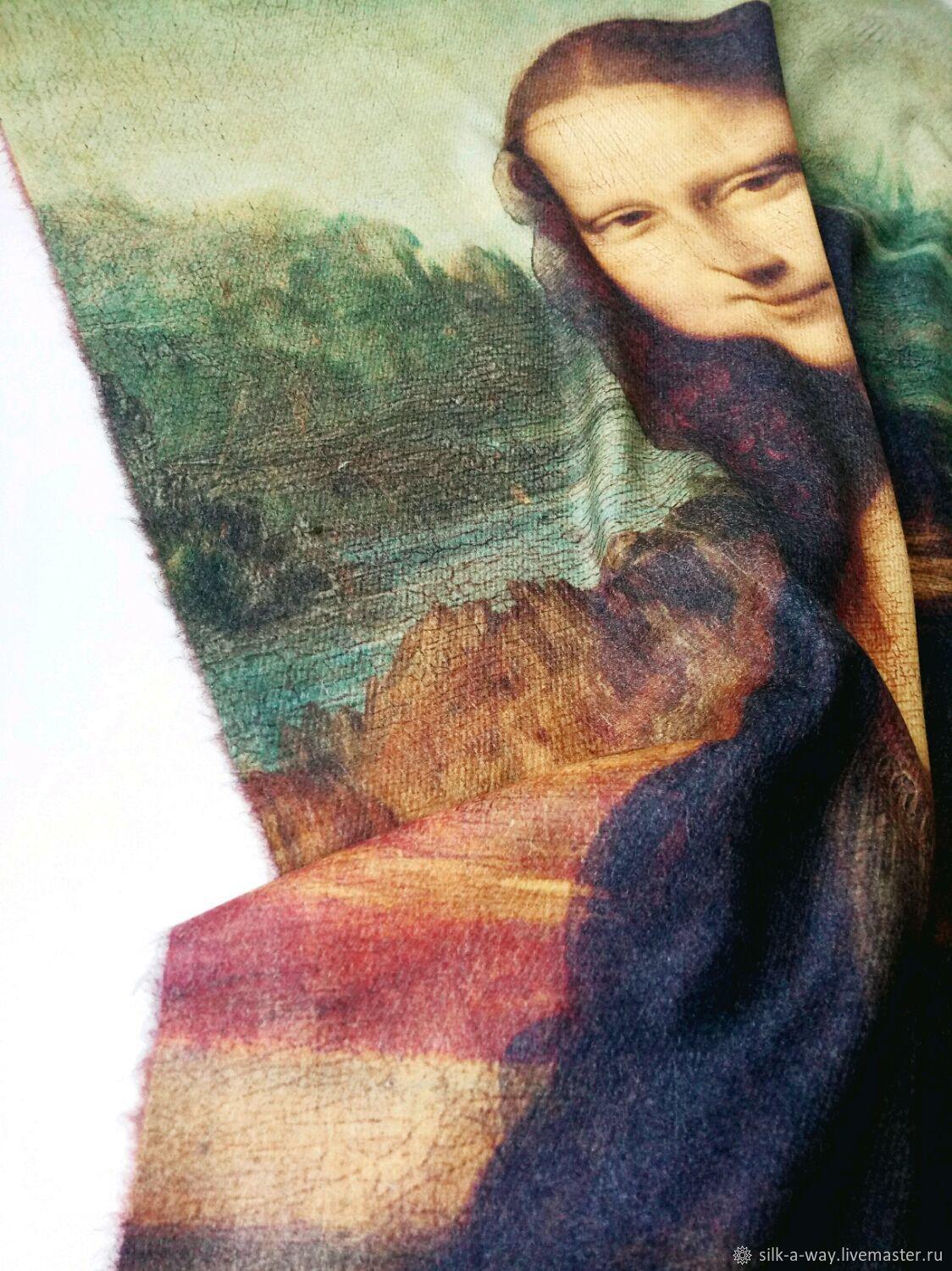 Палантин теплый.  Мона Лиза, Палантины, Москва,  Фото №1