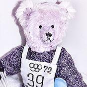 Куклы и игрушки handmade. Livemaster - original item Teddy bear. skier.. Handmade.