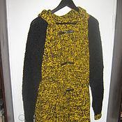 Одежда ручной работы. Ярмарка Мастеров - ручная работа вязаное пальто Резонанс. Handmade.