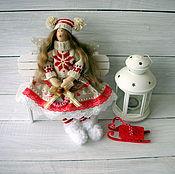 Куклы и игрушки ручной работы. Ярмарка Мастеров - ручная работа Скандинавская феечка Тильда ангел текстильная кукла. Handmade.