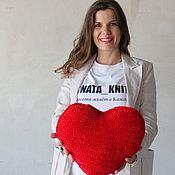 Подарки к праздникам handmade. Livemaster - original item Knitted heart. Handmade.