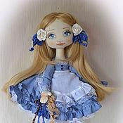 Куклы и игрушки ручной работы. Ярмарка Мастеров - ручная работа Алиса. Текстильная куколка.. Handmade.