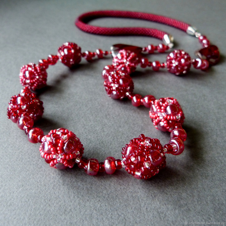 Beads 'Merlot», Beads2, Saratov,  Фото №1