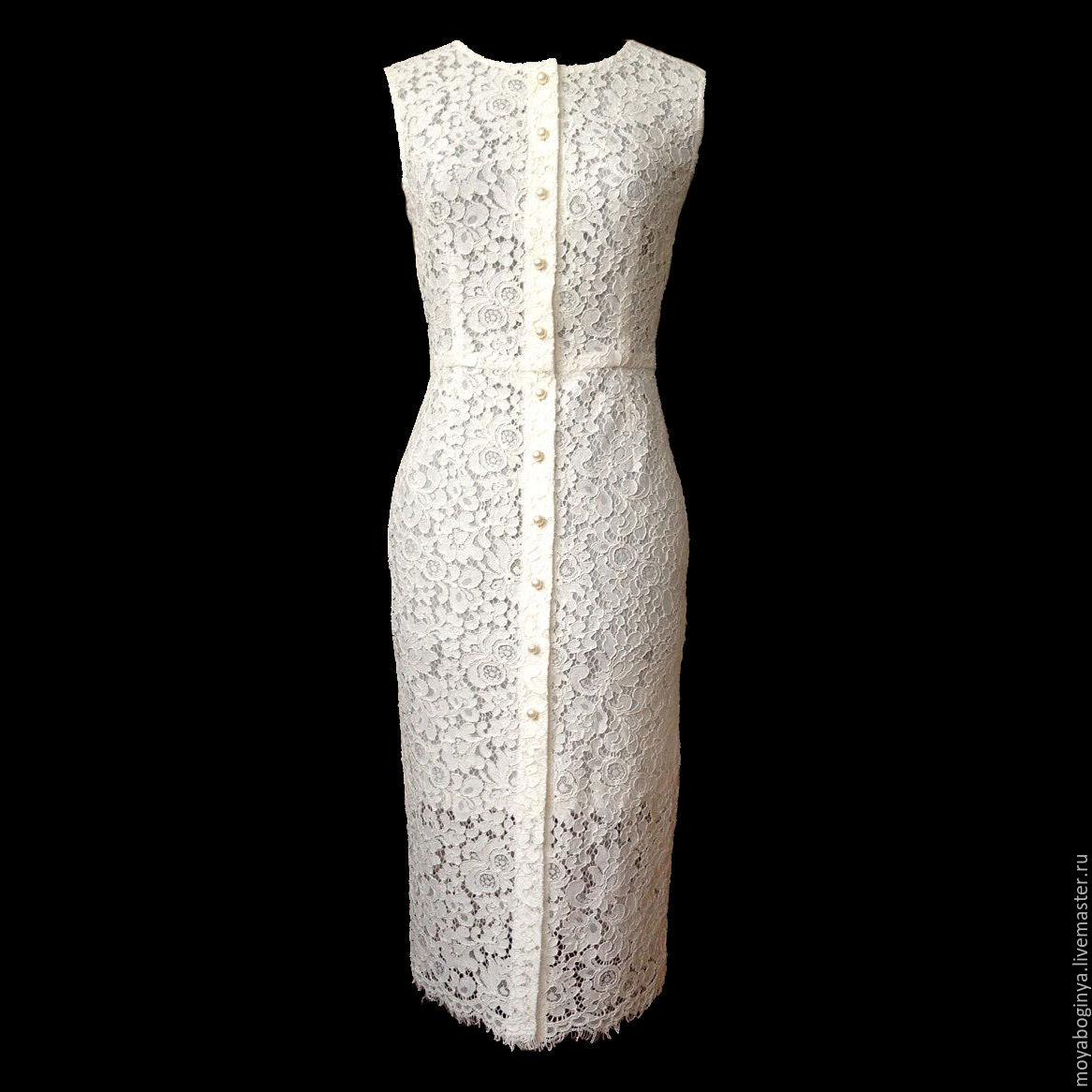 d1c934e3278 ручной работы. Ярмарка Мастеров - ручная работа. Купить платье из кружевного  полотна. Handmade