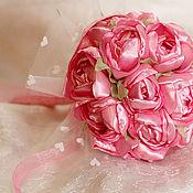 """Свадебный салон ручной работы. Ярмарка Мастеров - ручная работа Комплект для невесты """"Нежно-розовый"""". Handmade."""