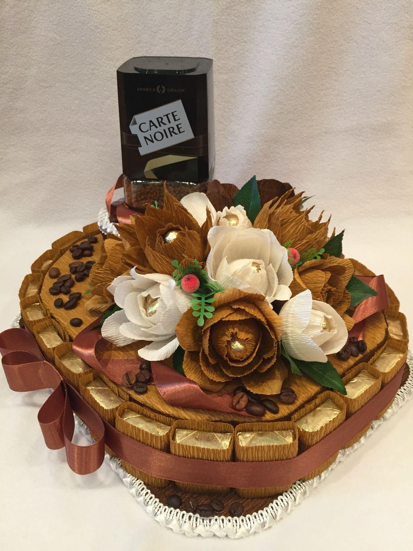 Оформить в подарок кофе с конфетами