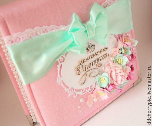 Подарки для новорожденных, ручной работы. Ярмарка Мастеров - ручная работа. Купить Мамины Сокровища. Handmade. Розовый, скрапукинг, на выписку, ткань