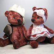 Куклы и игрушки ручной работы. Ярмарка Мастеров - ручная работа Мишутка и Машутка. Handmade.