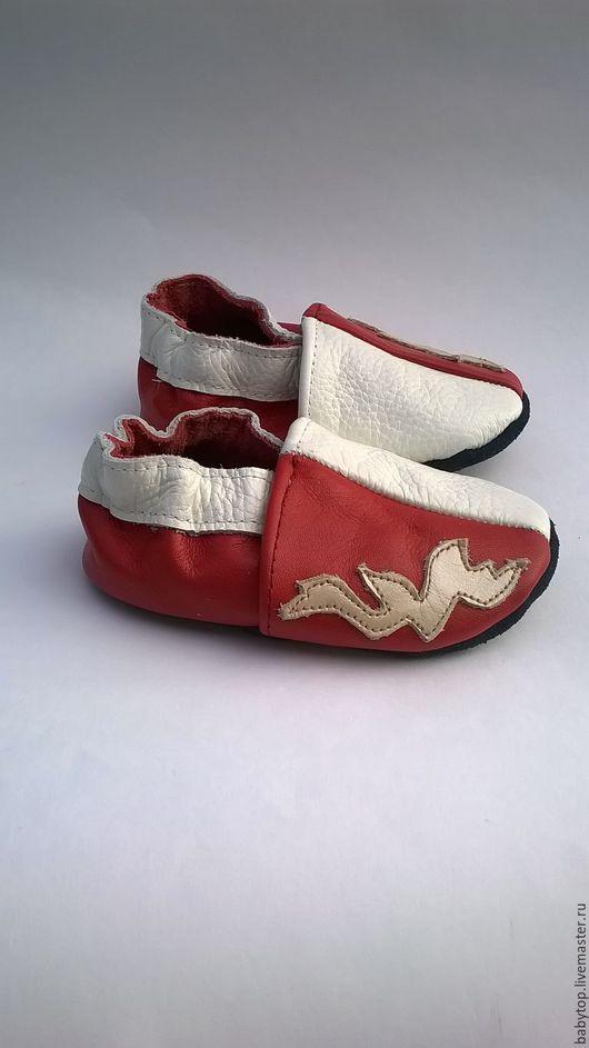 Кожаные тапочки (от0-7лет)   для малышей.кожаная обувь.пинетки.чешки.домашняя обувь.обувь для детей